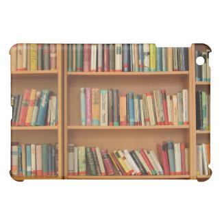 Bookshelf background iPad mini case