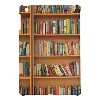 Bookshelf background case for the iPad mini