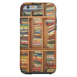 Bookshelf background iPhone 6 case