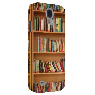 Bookshelf background samsung galaxy s4 case