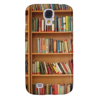 Bookshelf background samsung s4 case