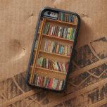 Bookshelf background tough xtreme iPhone 6 case