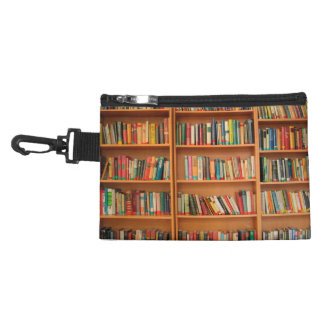 Bookshelf Books Library Bookworm Reading Accessory Bags