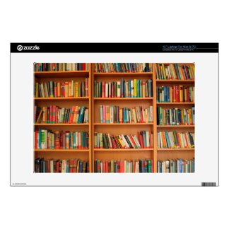 Bookshelf Books Library Bookworm Reading Decals For Laptops