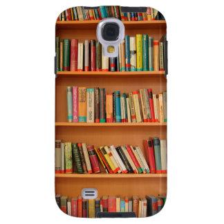Bookshelf Books Library Bookworm Reading Galaxy S4 Case