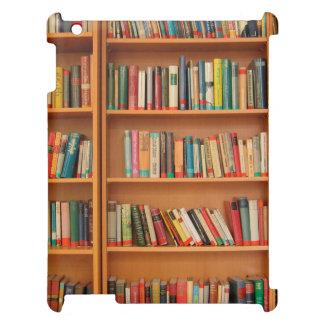 Bookshelf Books Library Bookworm Reading iPad Cases