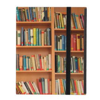 Bookshelf Books Library Bookworm Reading iPad Cover
