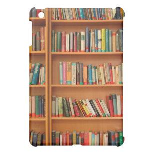 Bookshelf Books Library Bookworm Reading IPad Mini Case