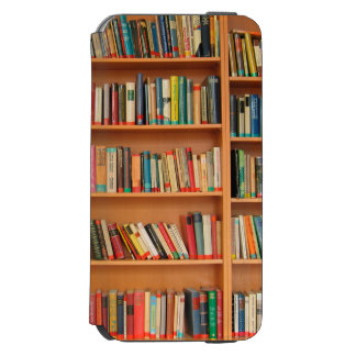 Bookshelf Books Library Bookworm Reading iPhone 6/6s Wallet Case