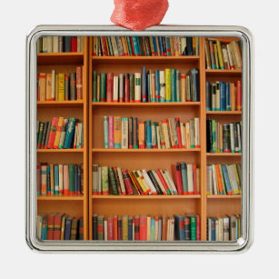 206 best images about Library Display Ideas for Christmas ... |Library Book Ornaments