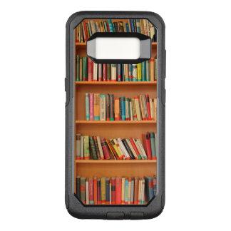 Bookshelf Books Library Bookworm Reading OtterBox Commuter Samsung Galaxy S8 Case