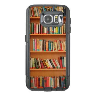 Bookshelf Books Library Bookworm Reading OtterBox Samsung Galaxy S6 Case