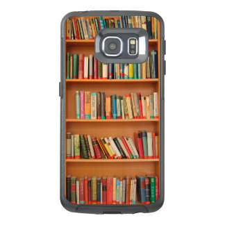 Bookshelf Books Library Bookworm Reading OtterBox Samsung Galaxy S6 Edge Case