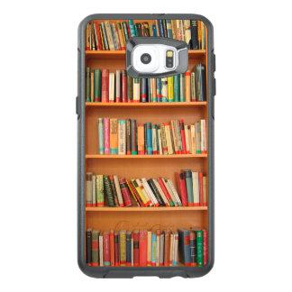Bookshelf Books Library Bookworm Reading OtterBox Samsung Galaxy S6 Edge Plus Case