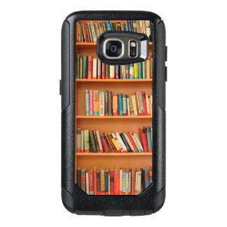 Bookshelf Books Library Bookworm Reading OtterBox Samsung Galaxy S7 Case