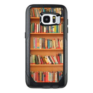 Bookshelf Books Library Bookworm Reading OtterBox Samsung Galaxy S7 Edge Case