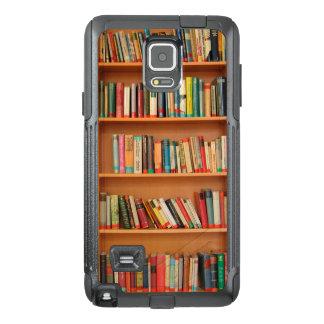 Bookshelf Books Library Bookworm Reading OtterBox Samsung Note 4 Case