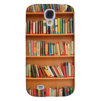 Bookshelf Books Library Bookworm Reading Samsung Galaxy S4 Cover