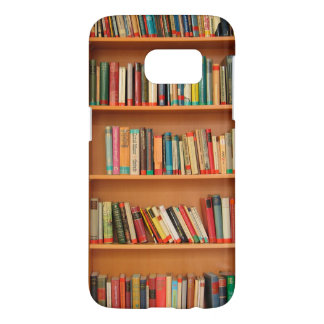 Bookshelf Books Library Bookworm Reading Samsung Galaxy S7 Case
