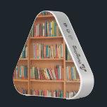 "Bookshelf Books Library Bookworm Reading Speaker<br><div class=""desc"">School library educational books on a brown wooden bookshelf for teachers,  students and bookworms.</div>"