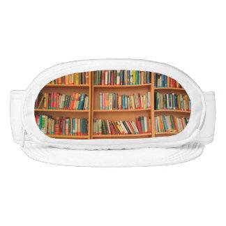 Bookshelf Books Library Bookworm Reading Visor