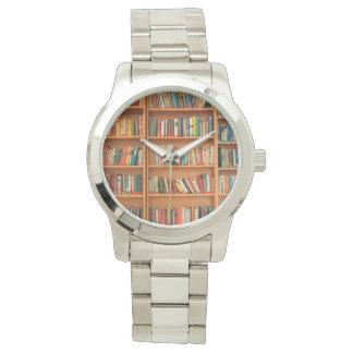 Bookshelf Books Library Bookworm Reading Watch