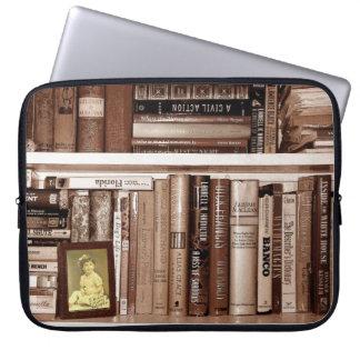 Bookshelf Laptop Computer Sleeve