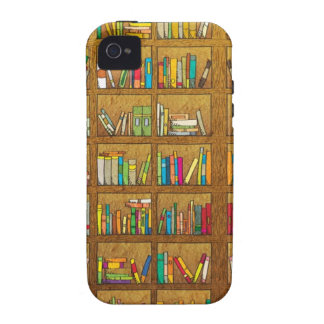 bookshelf pattern vibe iPhone 4 covers