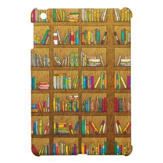 bookshelf pattern iPad mini covers