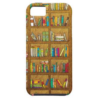 bookshelf pattern iPhone SE/5/5s case