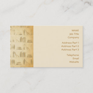 Vintage Style Look Background Business Card