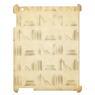 Bookshelf Pattern Vintage Style Look Background Cover For The iPad