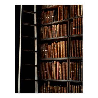 Bookshelf Postcard