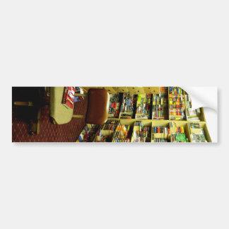 Bookshelves Bumper Stickers