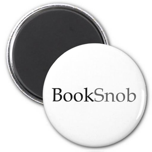 BookSnob Magnet (Light)