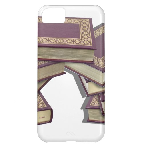 BooksStackedWithGoldLeaf052712.png Case For iPhone 5C