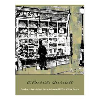 Bookstall Postcard
