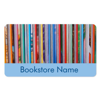 bookstore - books business card