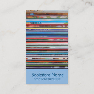 Bookstore business cards templates zazzle bookstore business card reheart Gallery