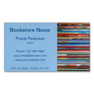 bookstore magnetic business card