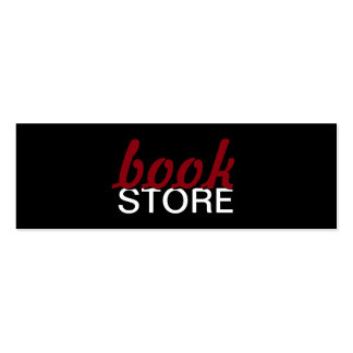 bookstore punch card Double-Sided mini business cards (Pack of 20)