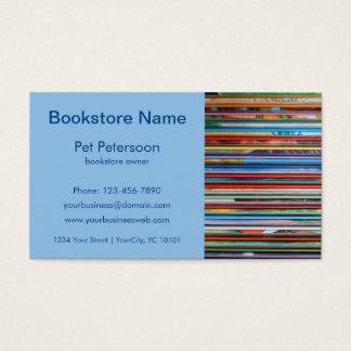 bookstore unique business card