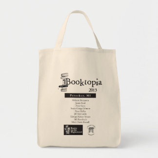 Booktopia 2103 - Bolso de Petoskey MI Bolsa Tela Para La Compra