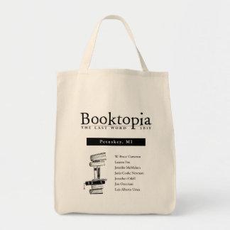 Booktopia 2105: La palabra pasada - Petoskey, Bolsa Tela Para La Compra