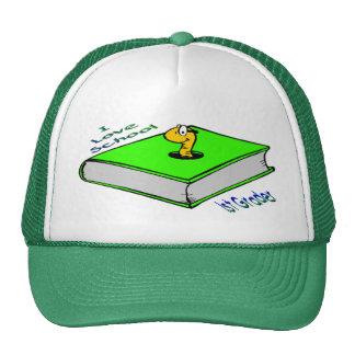 Bookworm 1st Grader - I love School Trucker Hat