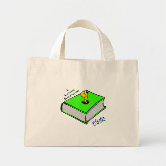 Bookworm 1st Grader - I love School Mini Tote Bag