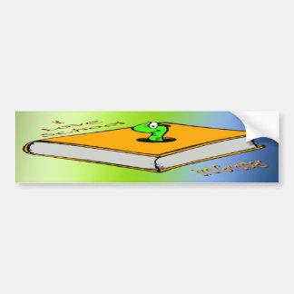 Bookworm 3rd Grader - I love School Bumper Sticker