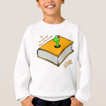 Bookworm 3rd Grader - I love School Sweatshirt