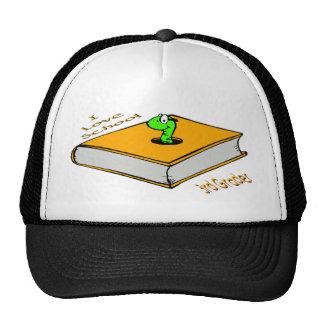 Bookworm 3rd Grader - I love School Trucker Hat