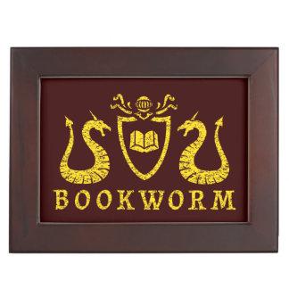 Bookworm Blazon Keepsake Box
